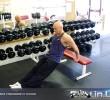 Упражнение: Обратные отжимания от скамьи